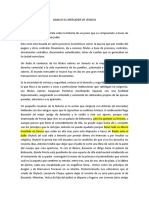 Analisis El Mercader de Venecia.
