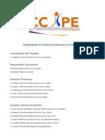 organigramma della conferenza di consenso def per sito