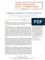 A Randomized, Controlled Trial of Total Knee Replacement
