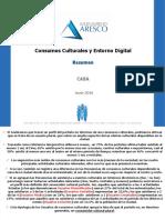 Consumos Culturales y Entorno Digital