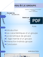 Groupe Et Indiv