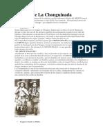 Historia de La Chonguinada