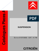 Suspension Citroen