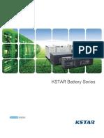 KSTAR Battery Catalogue 压缩