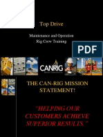 2 - Canrig Top Drive Rig Crew Training
