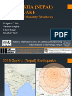 Nepal earthQuake Iitk