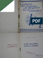 Cuaderno del Seminario de Integración Social No. 2