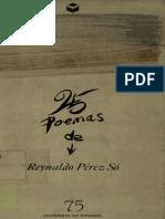 25 Poemas Reynaldo Pérez So