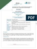 2017 Lenguaje y Argumentación Jurídica Programa