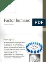 Factor Human o