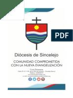 Afiche oficial de la Diócesis de Sincelejo
