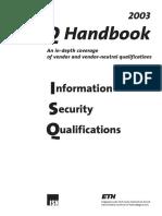 ISQ Handbook 2003