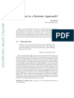 What is Systems Approach