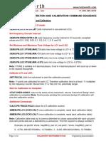 HA7062C LOCal Commands