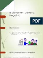 El Dictamen Adverso Negativo (1)