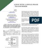 Informe 1 de Máquinas Eléctricas