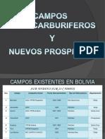 Campos Existentes en Bolivia