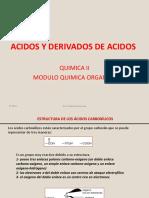 Acidos carboxilicos y deribados