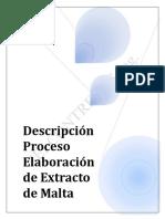 SEI Contreras Ingenieria-Informe-Descripcion Proceso Elaboracion de Extracto de Malta