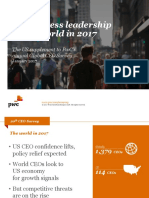 20th Global Ceo Survey Us Supplement Executive Dialogues