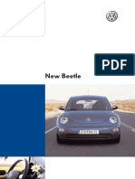 Documentation Volkswagen New Beetle
