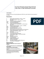 TPB Fracture Test Manual