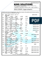 Simplification Sheet PDF