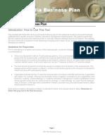 Social Media Business Plan Template.doc