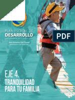Eje 4 Plan Estatal de Desarrollo Puebla 2017-2018