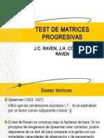 Test de Matrices Progresivas