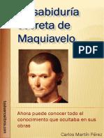 Maquiavelo La Sabiduria Secreta