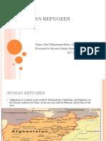 Afghan Refugees 2017