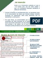 Modelo Carta Intencion Hermanamiento