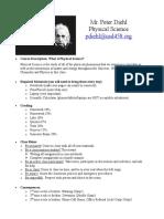 physsci syllabus