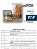 Mapping of the George C. Yount Pioneer Cemetery