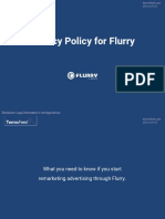 Privacy Policy for Flurry