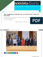 Www Eleconomista Com Ar 2017 07 Pba Cambiemos Crecera La Leg