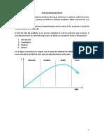 Ciclo de Vida Del Producto (CVP)