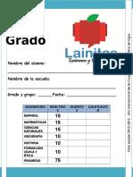 6to Grado - Bimestre 3 (2012-2013)