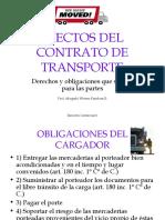 Efectos Del Contrato de Transporte