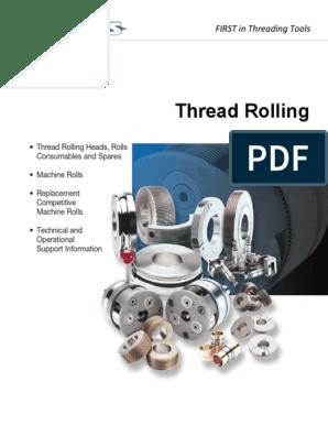 LANDIS Thread Rolling | Screw | Metalworking