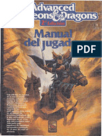 AD&D 2ª Ed Manual Del Jugador OCR