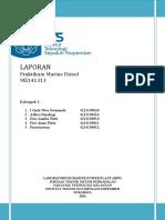 Laporan Marine Diesel