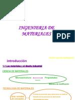 1.- Introduccion a La Ingenieria de Materiales