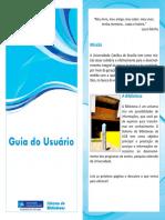Folder Biblioteca Católica Brasília