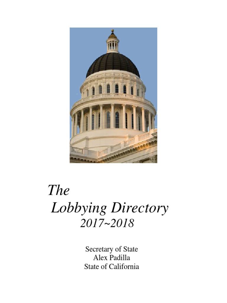 lobbying directory lobbying in the united states (815 views)