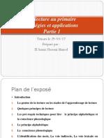 La lecture au primaire stratégies et applications - première partie .pptx