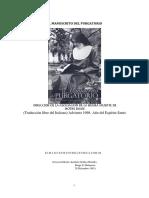 El Manuscrito Del Purgatorio - Sor Maria de La Cruz