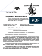 Baba Yaga Player's Packet