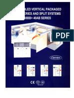 Catalogue DX SPLIT UNIT Carrier